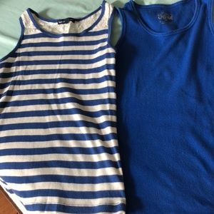 Other - two tank tops- one gap kids - one justice